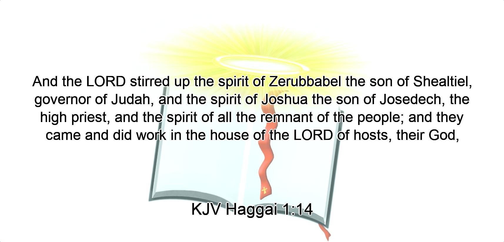 Image result for Stirring up of the spirits in the bible